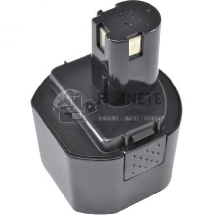 Batterie type RYOBI B-963F2 / 1400669 - 9.6V NiMH 3Ah