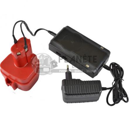 Chargeurs outillage électroportatif : Chargeur universel NiCd et NiMH - 4.8V - 18V - Avec fiches aimantées