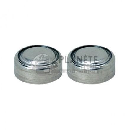 Pile Oxyde d'argent : Lot de 2 piles boutons - Oxyde d'argent SR44  - PX76 - 1.55V - ENERGIZER