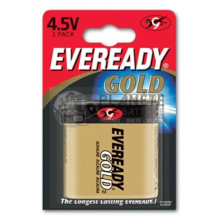 Pile plate 3LR12 - Alcaline 4.5V EVEREADY GOLD