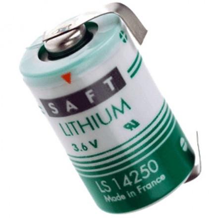Pile lithium industrielle LSH3 - 3.6V SAFT avec languettes