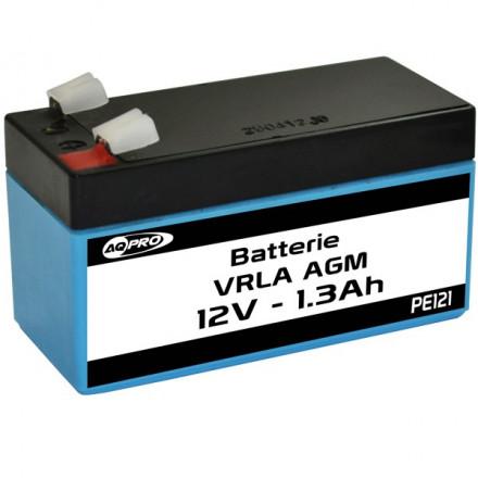 Batterie Plomb étanche 12V 1.3Ah VRLA AGM