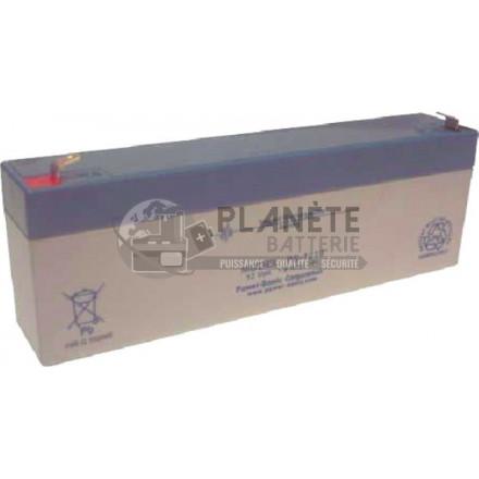 Batteries au plomb : Batterie Plomb étanche 12V 2.3Ah VRLA AGM
