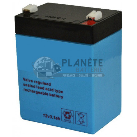 Batterie Plomb étanche 12V 3.2Ah VRLA AGM