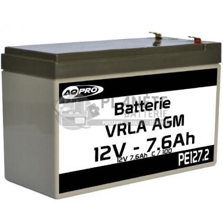 Batterie Plomb étanche 12V 7.7Ah VRLA AGM