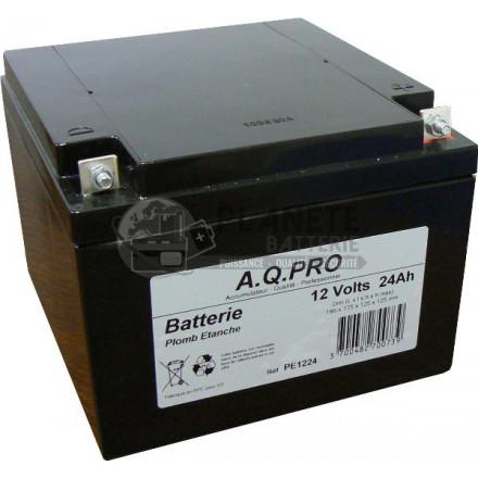 Batteries au plomb : Batterie Plomb étanche 12V 26Ah VRLA AGM