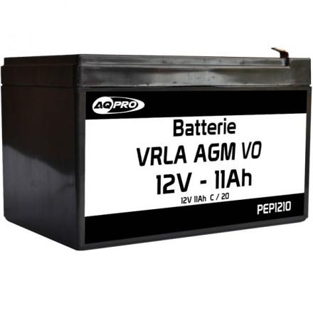 Batterie plomb étanche 12V 10Ah VRLA AGM flamme retardante