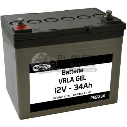 Batterie plomb étanche 12V 34.3Ah VRLA GEL
