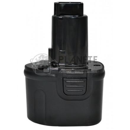 Batterie type DEWALT DW920K2. DW9057 - 7.2V NiMH 3Ah