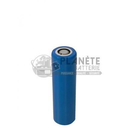 Accu batterie à tête plate - LIR 14500 - 3.7V - 800mAh - Li Ion - LG