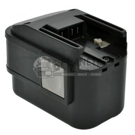 Batterie type AEG BXS9.6 / BS2E 9.6T PBS 3000 – 9.6V NiCd 2Ah