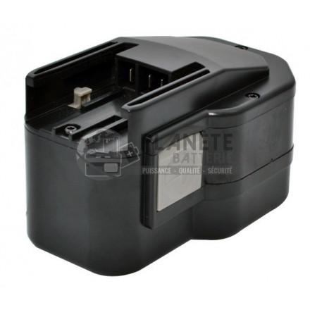 Outillage électroportatif : Batterie type AEG B14.4 / BXS14.4 PBS 3000 – 14.4V NiCd 2A
