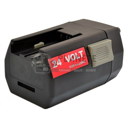 Outillage électroportatif : Batterie type AEG MXL24 – 24V NiMH 3Ah