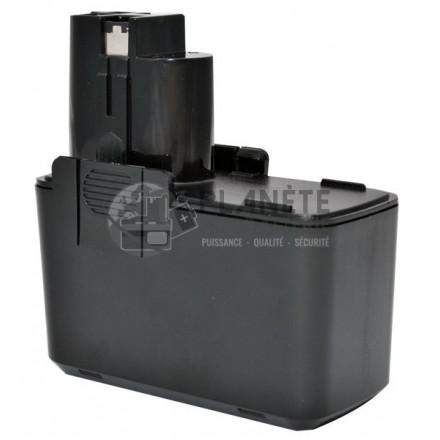 Batterie type BOSCH 2 607 335 152 / 0702300796 - 9.6V NiCd 2Ah