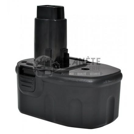 Batterie type DEWALT DE9091 / DE9094, 14.4V NiMh 2Ah