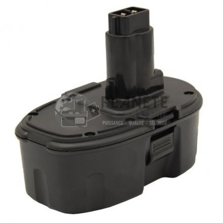 Batterie type DEWALT DE9095 / DE9096 ? 18V NiMH 2Ah