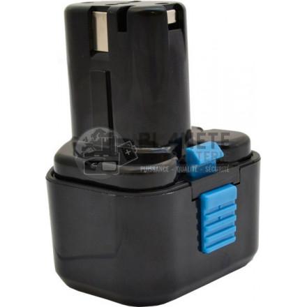 Batterie type HITACHI EB9B / EB920HS - 9.6V NiCd 2Ah