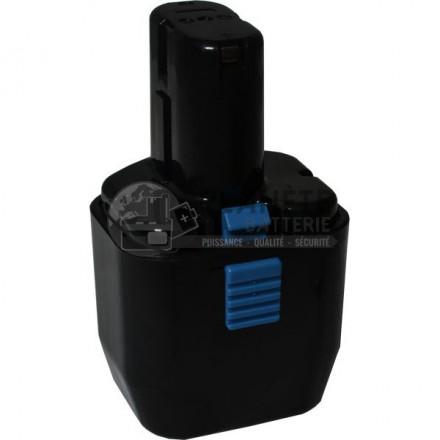 Batterie type HITACHI EB12B - 12V NiMH 3Ah