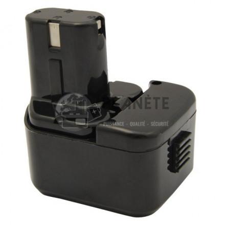 Batterie type HITACHI EB1214L / EB1220HL - 12V NiCd 2Ah