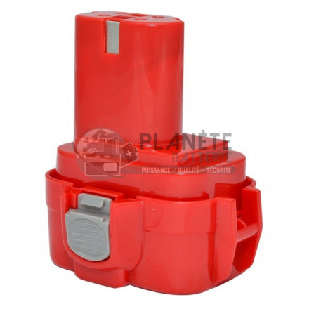 Batterie MAKITA 9122 – 9.6V NiCd 2Ah - Outillage électroportatif