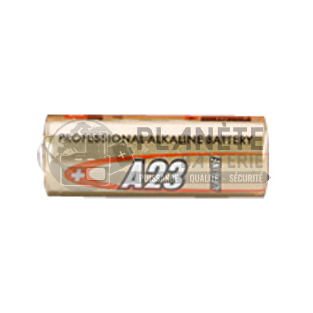 Pile Alcaline : PILE A23 E23A V23GA 12V ALCALINE B1