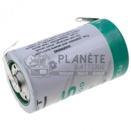 PILE LSH20 D 3.6V 13AH LITHIUM INDUSTRIEL SAFT FIL COAXIAL