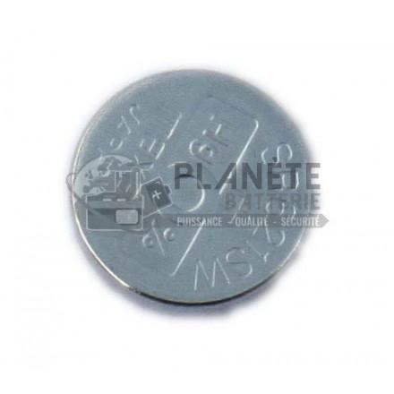 Pile Oxyde d'argent : PILE SR621SW 364 1.55V OXYDE D'ARGENT B1