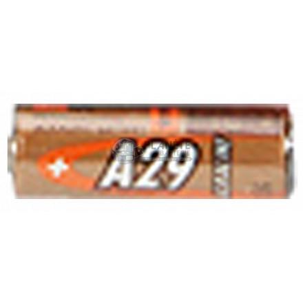 Pile Alcaline : PILE GP29A A29 29A 9V ALCALINE B1