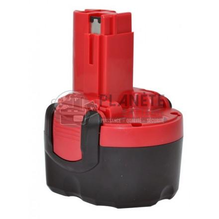Batterie type PASLODE / SPIT 10148 / SDI96 - 9.6V NiCd 2Ah