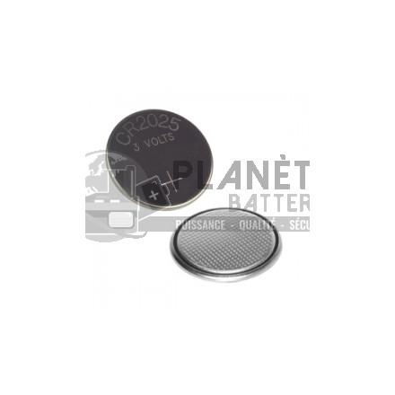 Pile bouton CR2025 - 3V -Lithium