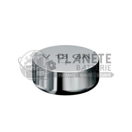 Pile Alcaline : Pile bouton LR44 A76 V13GA - 1,5V - Alcaline - Varta