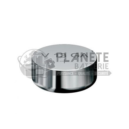 Pile bouton LR44 A76 V13GA - 1,5V - Alcaline - Varta