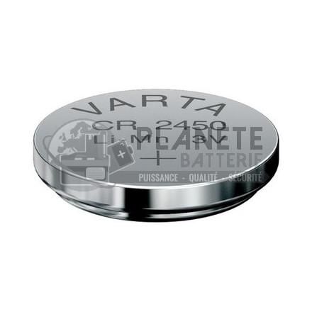 Pile CR2450 3V Lithium Varta
