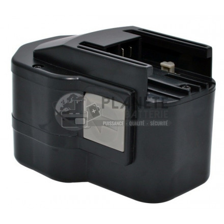 Batterie type MILWAUKEE B12 / PCS 12T PBS 3000 – 12V NiMH 3Ah