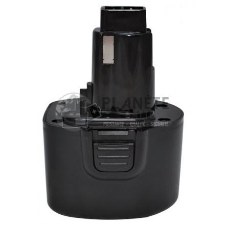 Batterie type DEWALT DE9061 / DE9062 ? 9.6V NiCd 2Ah