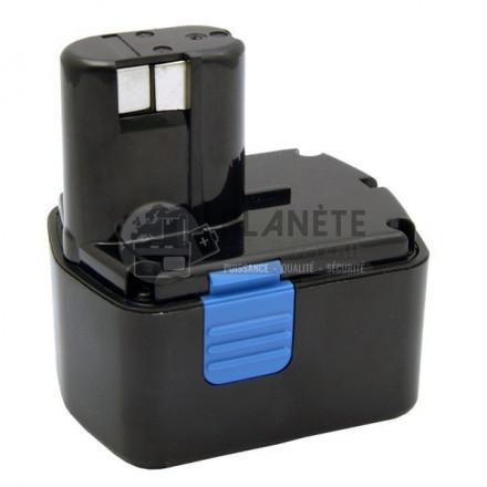 Batterie type HITACHI EB1414S / BSH1420, 14.4V NiMH 2Ah