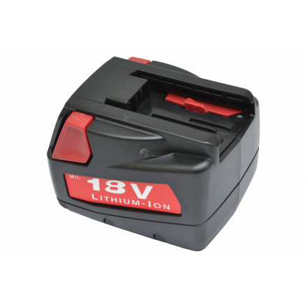 Batterie type MILWAUKEE V18/V18DD – 18V Li-Ion 2Ah