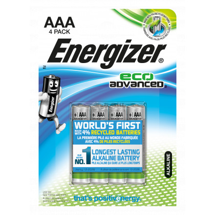 PILE AAA LR03 1.5V ALCALINE HIGH TECH POWERBOOST ENERGIZER B4