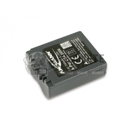 Batterie appareil photo PANASONIC CGA-S006 - 7.4V, Li-Ion, 750mAh, 5.6Wh