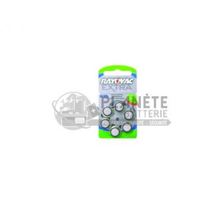 Lot de 8 piles boutons -Zinc-Air 675 - PR44 - 1.4V - ENERGIZER