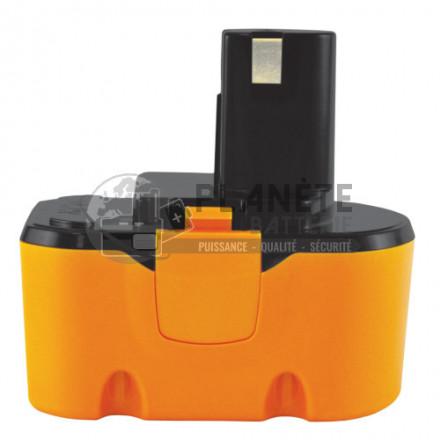Batterie type RYOBI 130224010 / 130224011 – 14.4V NIMH 1.5Ah