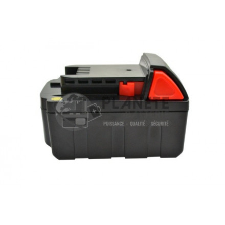 Batterie type MILWAUKEE M18XC / M18B2 ? 18V Li-Ion 4Ah
