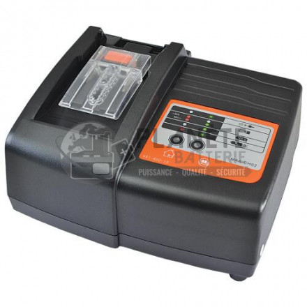 Chargeur batteries MAKITA Li Ion de 14,4 à 18V