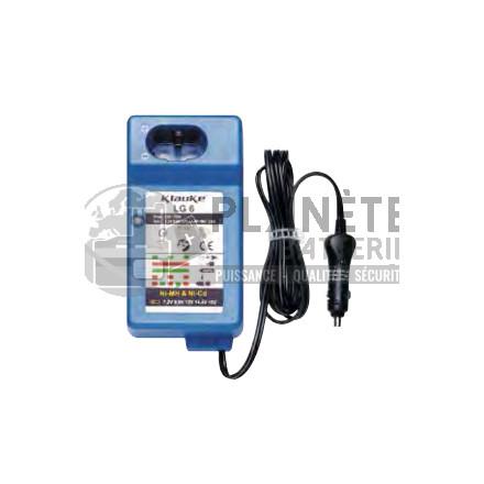 Chargeur batterie Klauke de 7.2V à 14,4V - NiMH et NiCd
