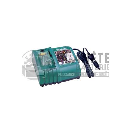 Chargeur Makita pour batterie Klauke pour véhicule - de 12V à 18V - Li-Ion