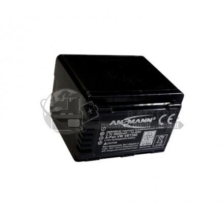 Batterie type Panasonic VBT380 - caméscope PANASONIC - 3.7V, Li-Ion, 3900mAh, 14.4Wh
