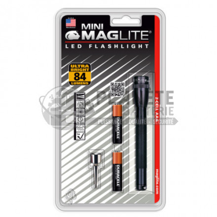 TORCHE SUPER MINI MAGLITE LED 2AAA
