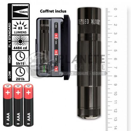 Lampe torche MAGLITE XL100 LED - 5 modes d'éclairage