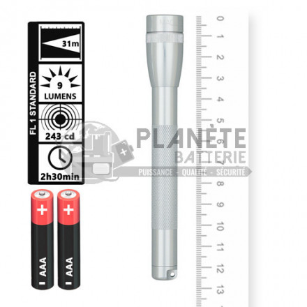 Lampe torche Super Mini R3 MAGLITE