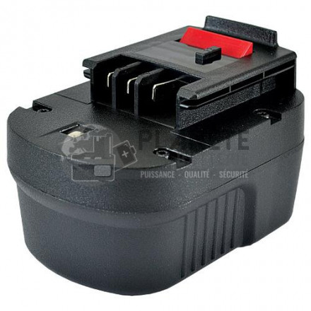 Batterie type BLACK & DECKER - 12V NiMH 2Ah